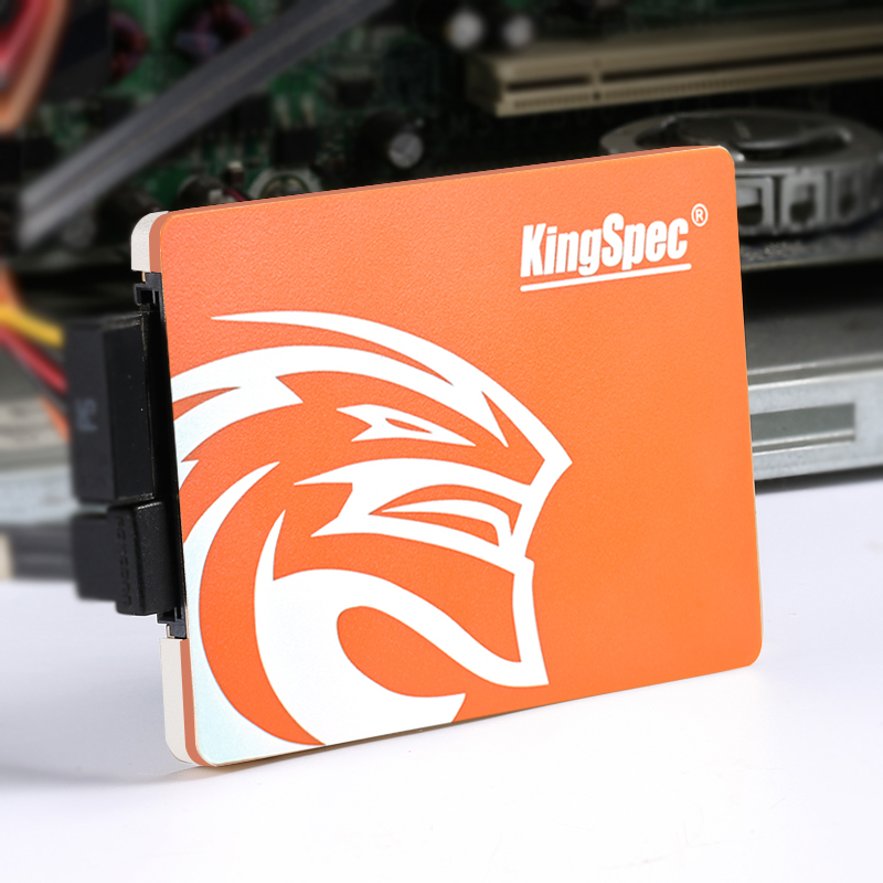 <font><b>Kingspec</b></font> <font><b>SSD</b></font> 2.5 Inch SATA3 <font><b>120gb</b></font> Original 256gb Internal Hard Solid Drive SATA hard disk 128gb Orange for computer laptop image