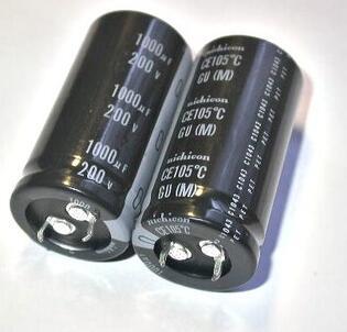 105 degree Electrolytic capacitor 200V 1000UF 25X50mm