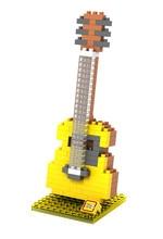 LOZ 9194 Musical Instruments Acoustic Guitar Educational Diamond Bricks Minifigures Building Block Minifigure Toys Gift