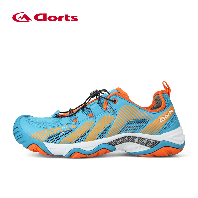 CLORTS New Men Aqua Shoes Breathable Quick Drying Trekking Shoes Beach Sneakers Rubber Upstream Shoes Professional Water Shoes merrto 2016 new brand women beach water aqua shoes upstream fishing wading shoes water breathable sneakers 18376 1