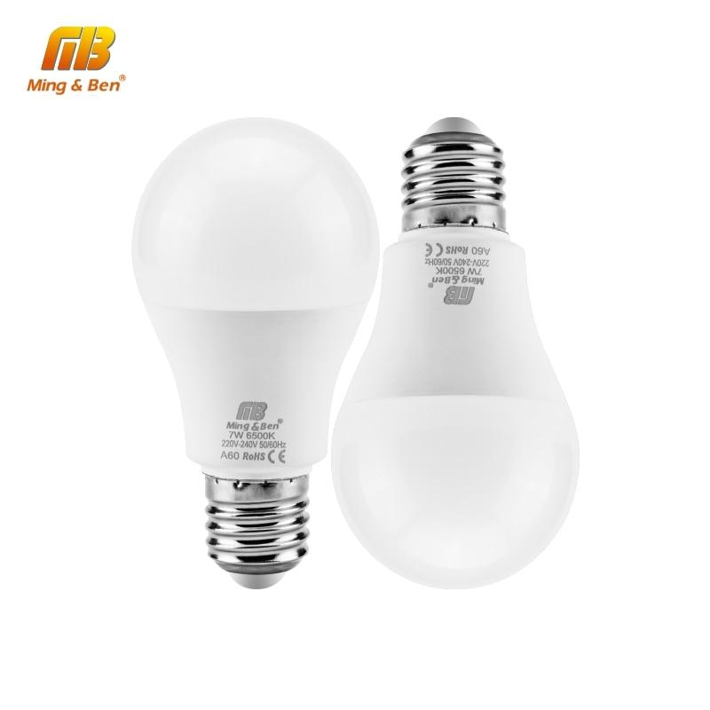 Светодиодный светильник, 110 В, 220 В, 5 Вт, 9 Вт, 12 Вт, 15 Вт, 18 Вт, E27