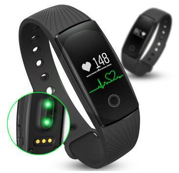 imágenes para Inteligente Bluetooth Banda ID107 Pulsera Rastreador De Fitness Podómetro Sleep Monitor de Ritmo Cardíaco del Pulso Inteligente Rastreador IOS Android Pulsera