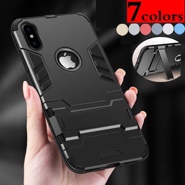 Shockproof Hybrid Armor Protective Case Stand For Sony XPeria XA E5 XZ XZ1 XA1 X compact Z5 Plus HTC M10 Desire 10 Pro Case