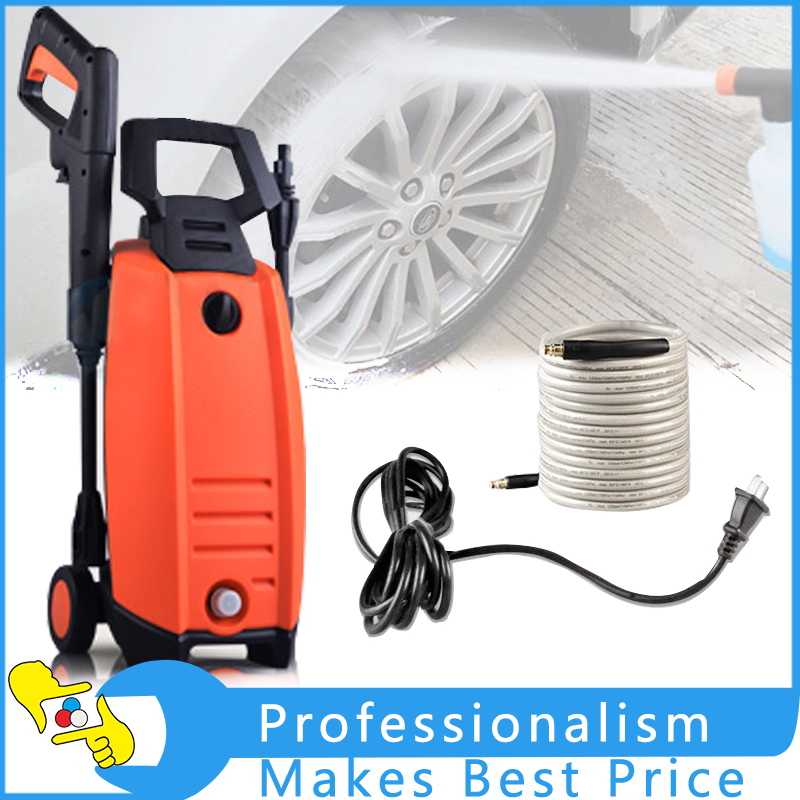 Household Car Washer High Pressure Car Washing Cleaning Machine 220V 1400W washing machine washer water level pressure sensor switch factory original