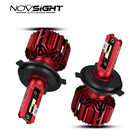 NOVSIGHT 2pcs h4 led...