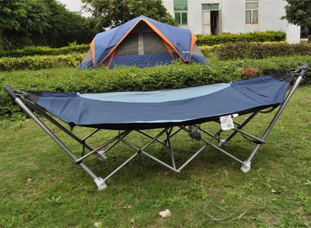 Outdoor Camping Hammock Bed Hanging Chair Garden Swing Outdoor Rocking Bed  Indoor Patio Swing Rocking Chair