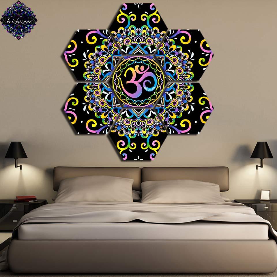 DoodleOhm par Brizbazaar mur photo mur art imprimer 7 panneaux Excellent vin verser toile peinture décor maison photos imprimer