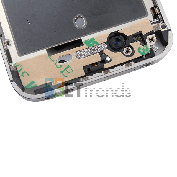 Metal Middle Plate Assembly for iPhone 4S - White  (11).jpg