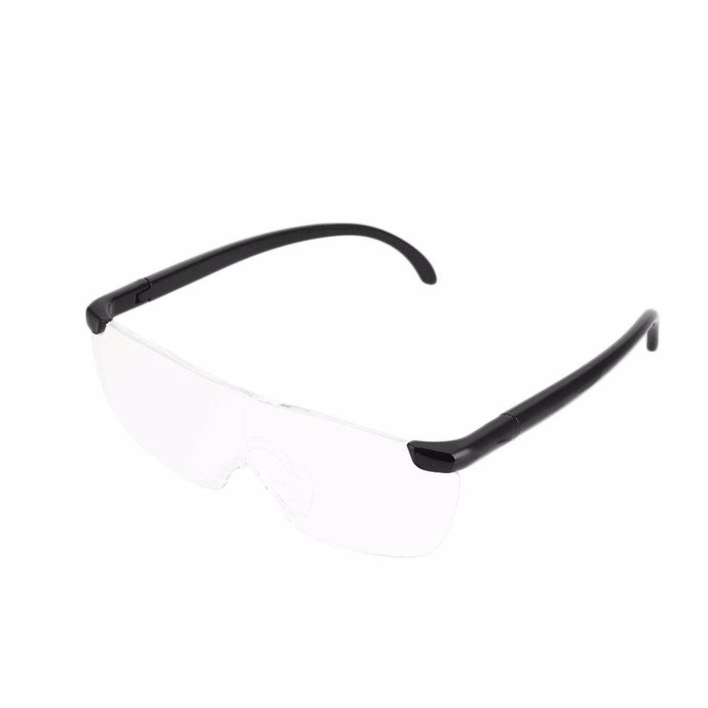 Vision Unisex 160% Magnifying Glass Magnification Presbyopic TV Clearer eyewear magnifier Glasses With Original Box full page magnifying sheet fresnel lens 3x magnification pvc magnifier