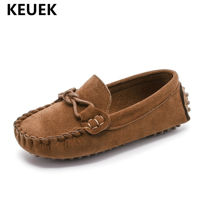 Мокасины детские кожаные, модные кроссовки, плоская подошва, повседневная обувь для массажа, для мальчиков и девочек, размеры 21-35 02