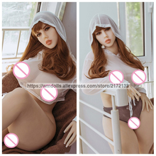 WMDOLL 163cm Silicone Sex Dolls Real Robot Anime Love Doll Hcup For Men Toys Huge Breast Big Ass Sexy Vaginal
