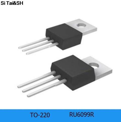 10pcs/lot RU6099R RU6099 120A 60V TO-220 New Original Quality Assurance