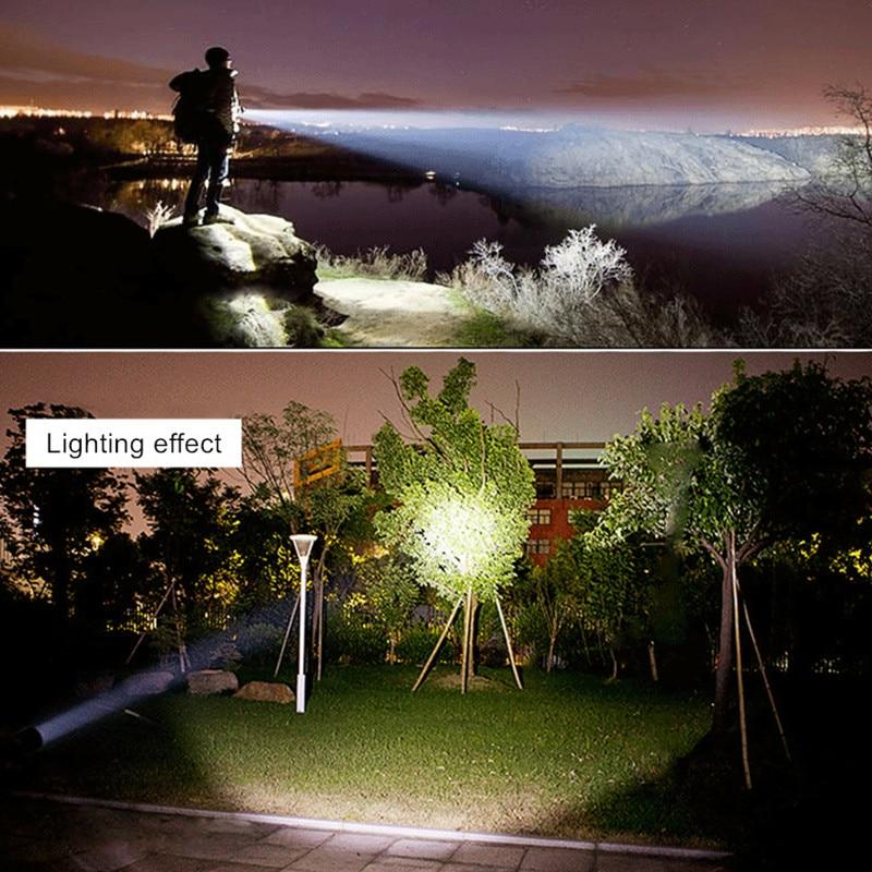 Lanternas e Lanternas xml led 26650 lanterna lanterna Bateria : 26650