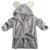 Lindo de la Historieta Animal Del Bebé Con Capucha Albornoz Baño Toalla de Baño Toalla de Baño Robe jumpsuit niños Otoño invierno kigurumi ropa de Dormir