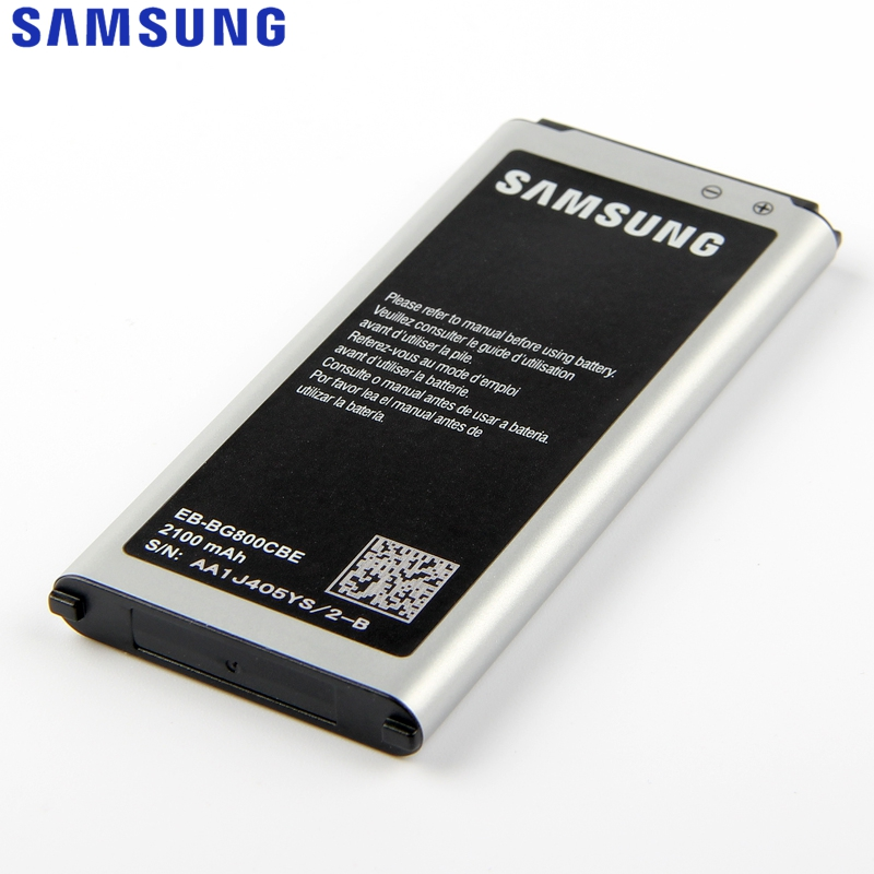 Original Replacement Samsung Battery For Galaxy S5 mini G870a G870W SM-G800FS5MINI EB-BG800BBE EB-BG800CBE With NFC 2100mAh