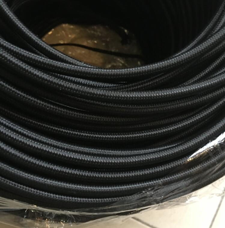 Cord Covers. 10 Meters 2 Wire 075mm2 Textile Electrical Wire Color ...