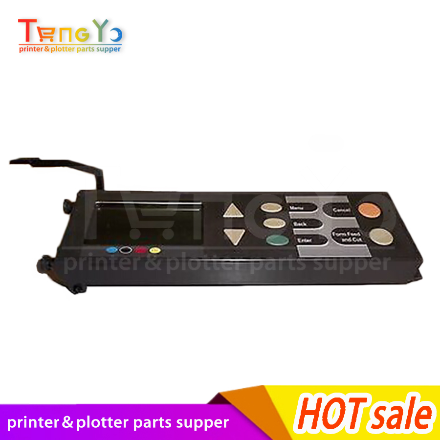 Free shipping NEW original Designjet 500 510 800PS series plotters Control panel assembly C7769-60382 C7769-60161 plotters parts