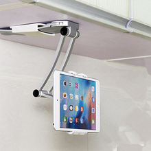 лучшая цена Flexible 360 Degree Phone Stand Holder Kitchen Bracket for iPhone X Tablet Holder Mount for iPad 9.7 2018 Air 1/2 Mini Pro 10.5