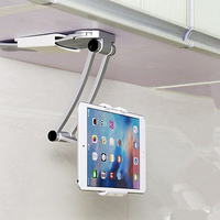 Flexible 360 Degree Phone Stand Holder Kitchen Bracket for iPhone X Tablet Holder Mount for iPad 9.7 2018 Air 1/2 Mini Pro 10.5