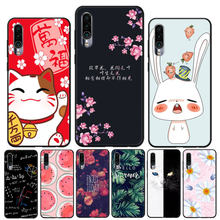 For Meizu 16XS Case Silicone Painted Black Soft TPU Back Cover For Meizu 16XS 16 XS 16X S Meizu16XS Phone Bumper Cases Housing(China)