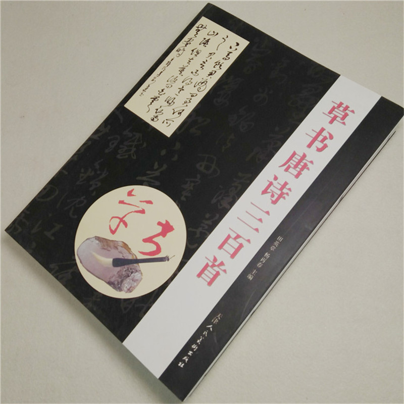 Copybook For Chinese Calligraphy, Copy Book For Mo Bi Zi,Cursive Script Cao Shu Chinese Poetry Of The Tang Dynasty Shu Fa libros