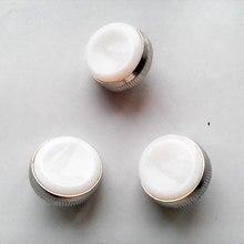 Белый трубчатый клапан палец ремонтный набор для трубы 3 шт трубы кнопки аксессуары