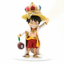 One piece eatting King luffy figure Grown money D Luffy figura