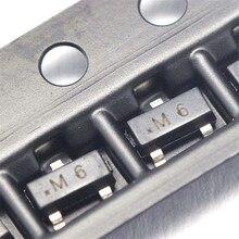 100 ШТ./ЛОТ Патч Транзистор S9015 M6 0.1A/45 В SOT23 PNP Транзистор Силы
