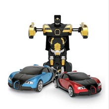 Luxury Sportscar Models car gesture Deformation Robot Transformation Remote Control RC Car Toys Gift for children