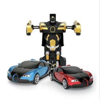 Luxury Sportscar Models car gesture Deformation Robot Transformation Remote Control RC Car Toys Gift for children image