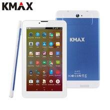 Kmax Tablette 7 дюймов IPS 4 ядра MTK Процессор Tablette te Android 5.1 встроенный 3 г Телефонный звонок Dual SIM карты Tablette S PC GPS BT двойной камеры