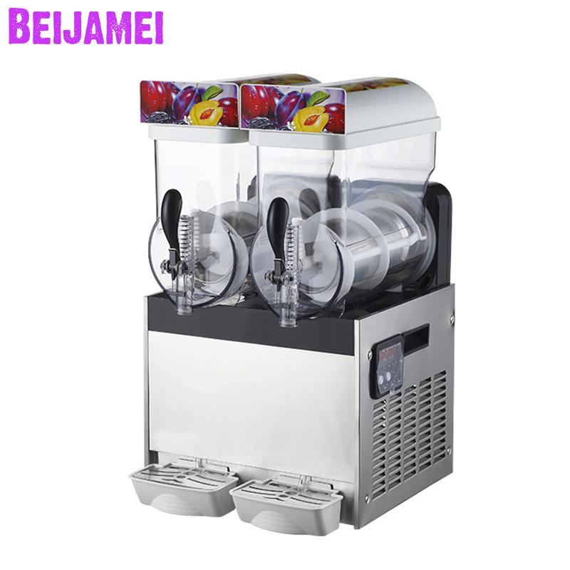 Beijamei High Quality Electric Snow Melting Machine/110v 220v Ice Slush Machines/commercial Juice Slush Ice Machine