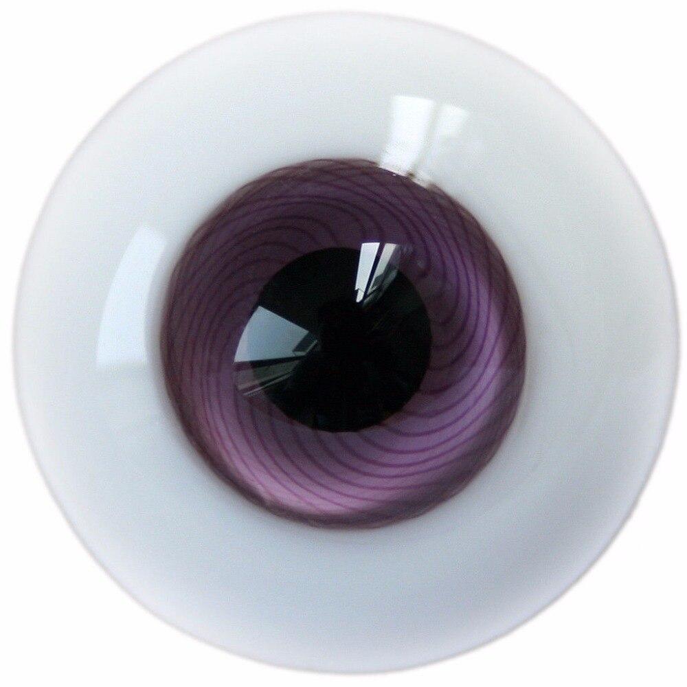 [Wamami] E14 #18mm Maille Violet Yeux Pour BJD AOD DOD Dollfie Verre Yeux Outfit