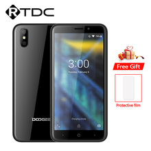 DOOGEE X50 Android 8.1 3G Del Telefono Mobile MTK6580M Quad Core 1 GB di RAM 8 GB di ROM Dual 5MP camera 5.0 2000 mAh Dual SIM OTA Smartphone