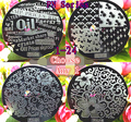1X PN Series 1-24 Flower Design Plate Polish Stamping Manicure Image Nail Art Image Konad Print Stamp Stamping Manicure Template