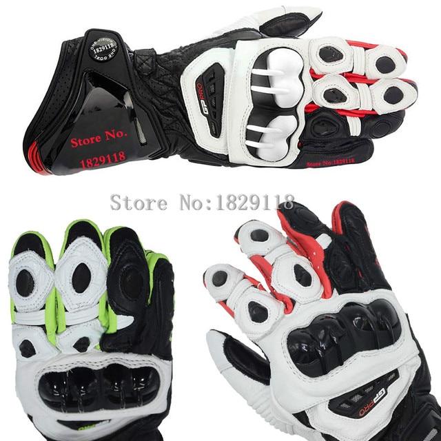 2015 GP PRO Motorcycle Alpine Racing Gloves TOP Leather Motobike Road Luvas Top Isle Of Man TT Road Moto Stars Guantes
