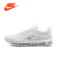 Original Nike Air Max 97 Men's Breathable Running Shoes Sports 2018 New Arrival Nike Sneakers Men's Tennis Classic Breathable