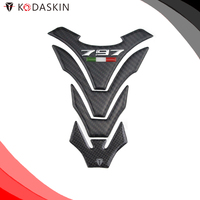 KODASKIN Protection Tank Pad Carbon Protector 3D Sticker Decal Emblem For DUCATI Monster 797