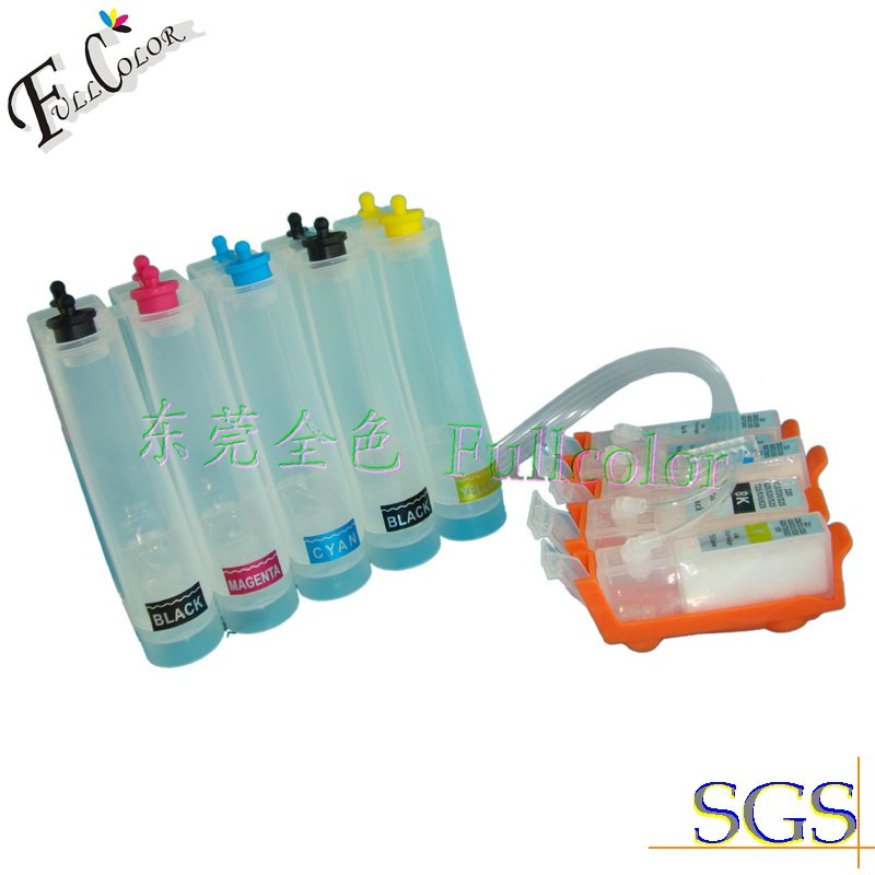 цены FREE SHIPPING!!Hot Sell Compatible CISS Ink System With Dye Ink & Permanent Chip for PGI521