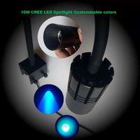 CREE XPE LED Aquarium light Fish Tank Clamp Lamp DIY led Spot Light clip lamp for Fish Marine Coral Reef SPS LPS