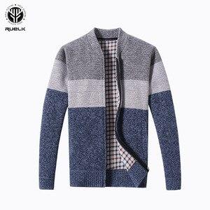 RUELK 2018 Hot Sale Brand-Clothing Spring Cardigan Male Fash