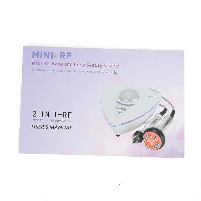 Radiofréquence RF enlevez la poche et Anti-âge 6 machine multipolaire de serrage de la peau du visage