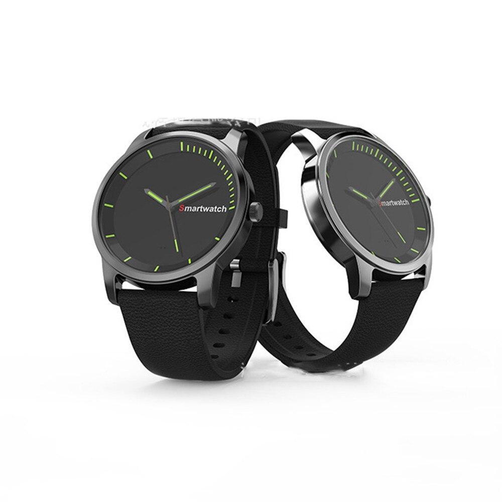 N20 IP68 водонепроницаемый круглый экран smart bluetooth кварцевые часы для ios android телефон аккумуляторная долгого ожидания
