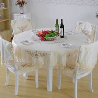 High fashion side cover soluble coffee table cloth table cloth tablecloths cloth printing cross stitch tablecloth Continental sh