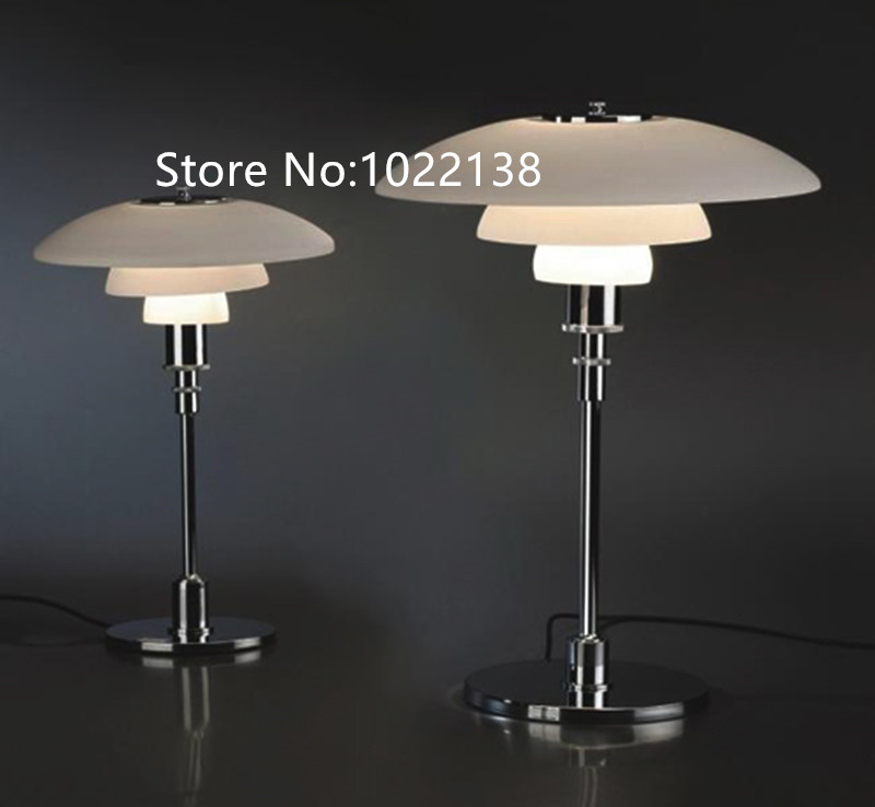 цена на Factory wholesale high quality Replica Poul Henningsen PH 3/2 table lamp/PH table llamp LED reading lights