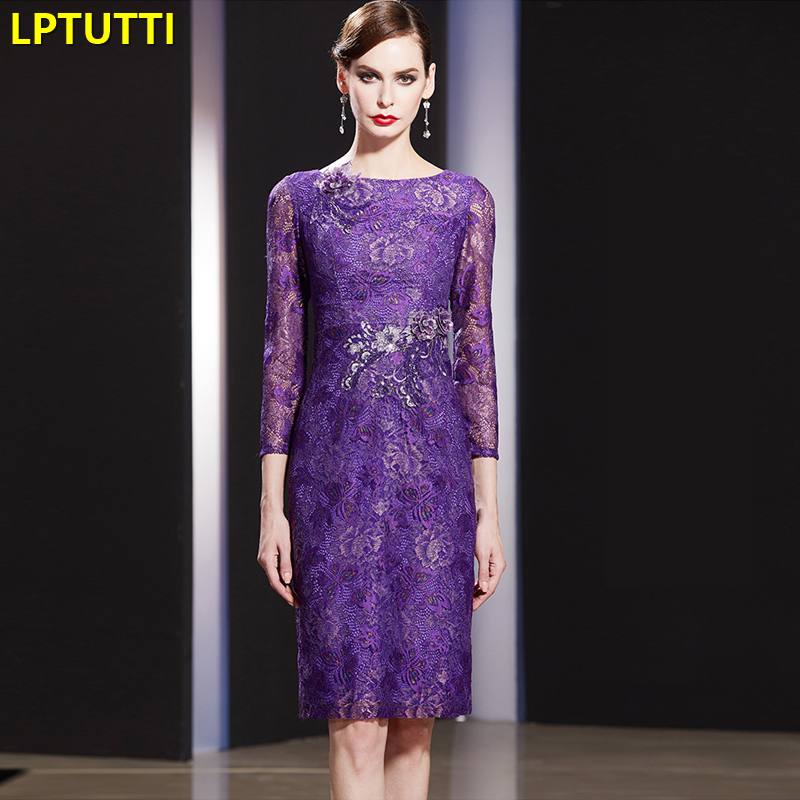 LPTUTTI Appliques Embroidery New Sexy Woman Social Festive Elegant Formal Prom Party Gowns Fancy Short Luxury Cocktail Dress