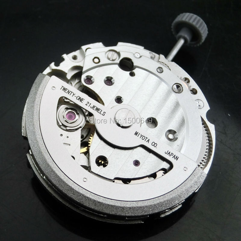 Twenty One Jewels Miyota 821A Automatic Mechanical Movement Is Used By Watch Assembly And Watch Repair Craftsman