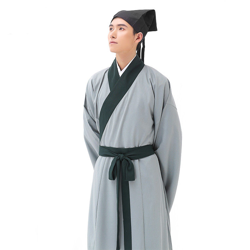 Costume male Song dynasty scholar costume scholar show clothes ancient Jiangnan Talent Hanfu film show costumes