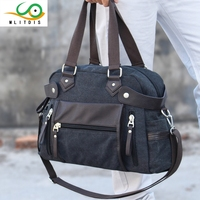 2016 New Winter Men S Casual Shoulder Diagonal Cross Portable Fashion Travel Bag Canvas Bag Internal