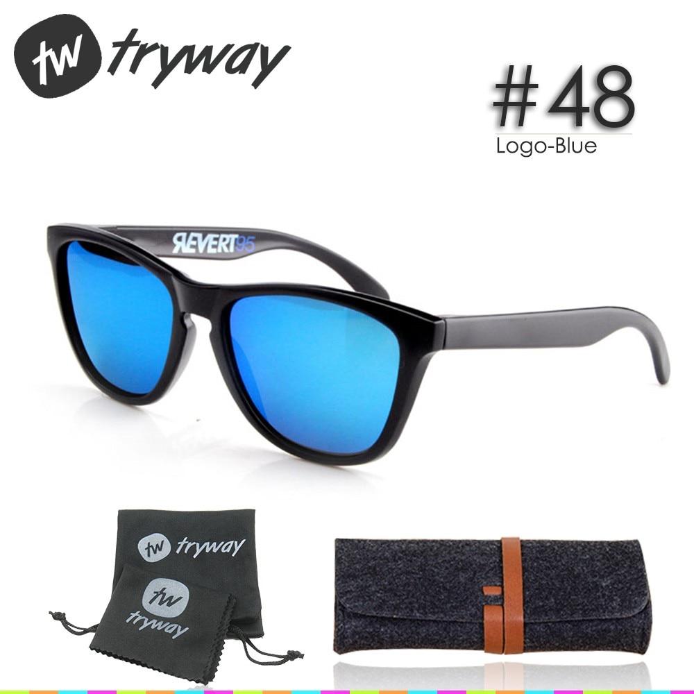 Prix pour 2017 NOUVEAUX Sports lunettes de soleil polarisées Conception style oculos gafas de sol Revêtement Réfléchissant classique en plein air TR90 VR/46 lunettes
